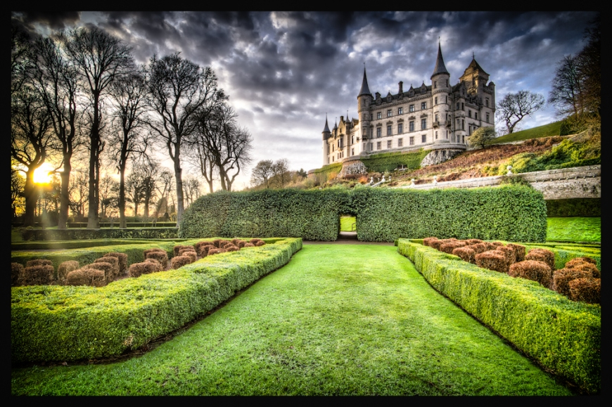 A Haunting In Dunrobin Castle Sutherland Scotland