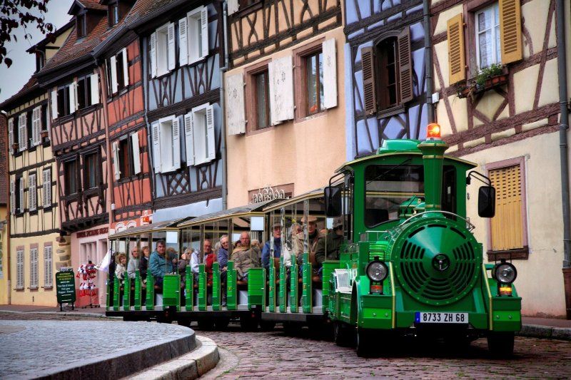 Petit Train Photo: Colmar Office de Tourisme