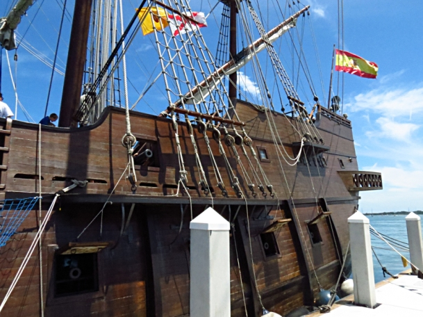 El Galeon in St. Augustine Photo by: Christa Thompson