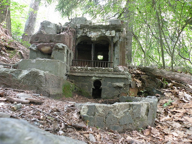 Fairy Village In The Woods Of Middlebury Connecticut