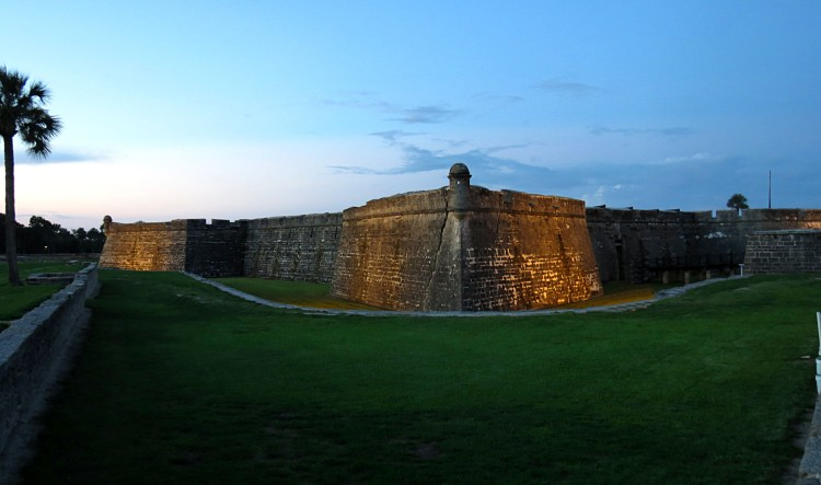 Castillo de San Marcos photo by Christa Thompson