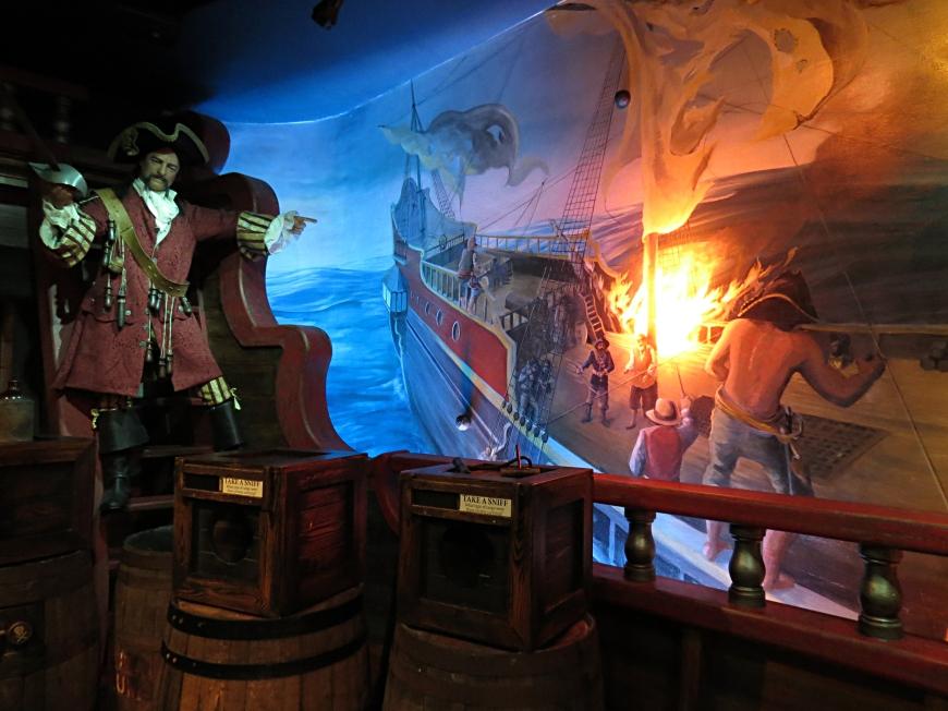 Pirate treasure Museum Photo by Christa Thompson