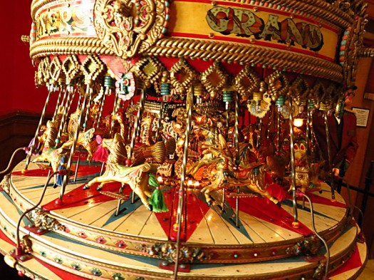 Miniature carousel Photo by Christa Thompson