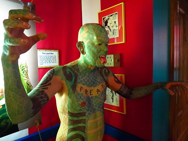 Wax Lizard Man Photo by Christa Thompson