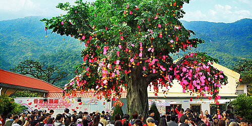 Well Wishing Festival in Hong Kong by discover Hong Kong