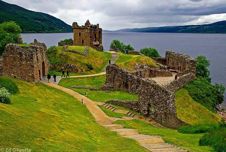 Loch Ness Castle, Castle Urquhart photo from Rebeccarecommends.com