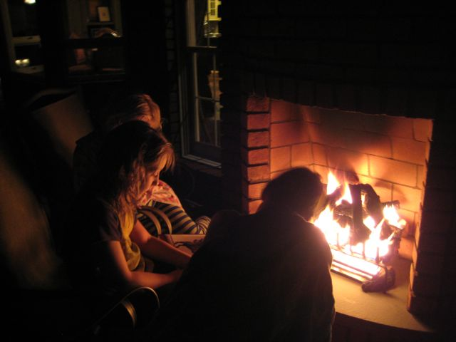 Telling stories around the fire never gets old...