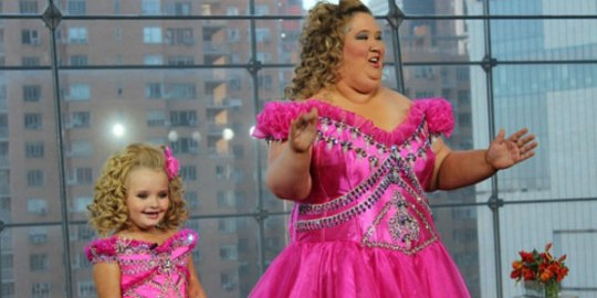 Honey Boo Boo and her terrifying mother