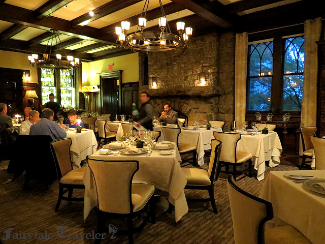 Fine dining at Equus at the Castle Hotel and Spa, photo by Christa Thompson