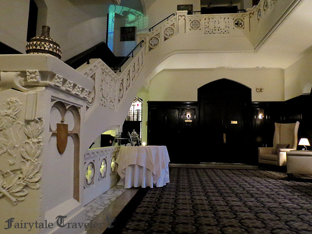 Intricate details throughout the property make the Castle Hotel a unique luxury experience, photo by Christa Thompson