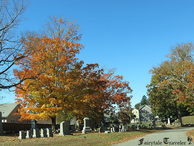 Oak grove cemetery where lizzie borden and the borden family are laid