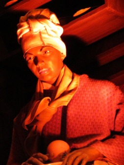 Tituba depicted, photo by Christa Thompson