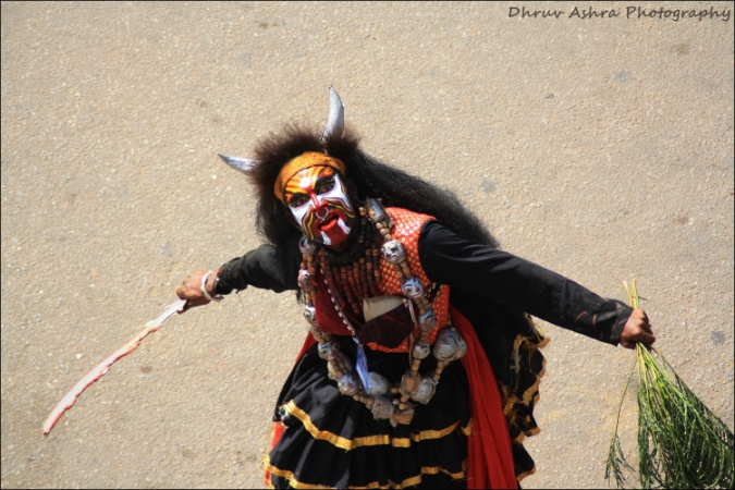 Rakshasa from the Dasara Festival in Mysore  by Dhruv Ashra