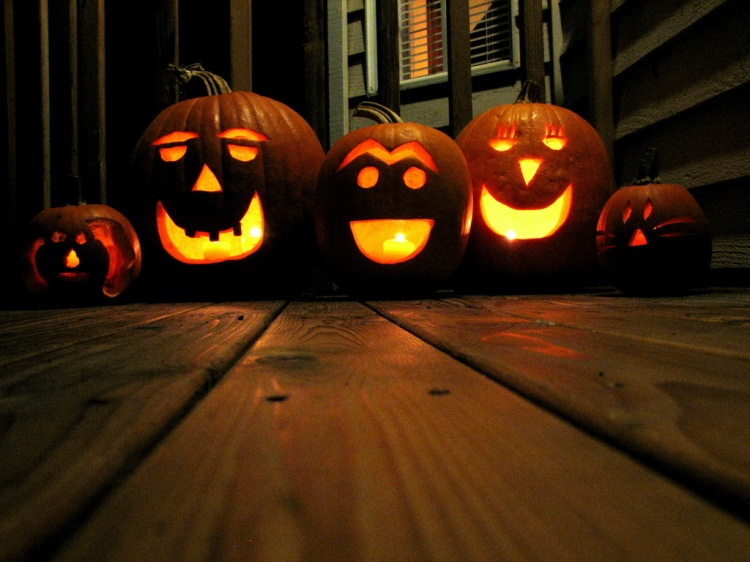 Traditional Jack-O-Lanterns