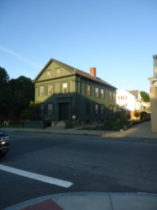 The Lizzie Borden House photo by Lizzie Borden Warps and Wefts