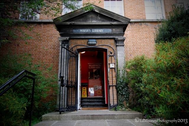 Marsh's Public Library, the oldest in Ireland by Ed Mooney 2013