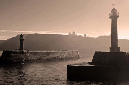 Whitby Photo by Wikimedia Commons