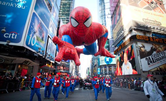 The Macy's Day Parade in New York City