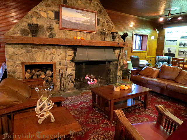 Inside the Carriage House there's a warm fire, hot chocolate, and the most breathtaking view you can get, by Christa Thompson