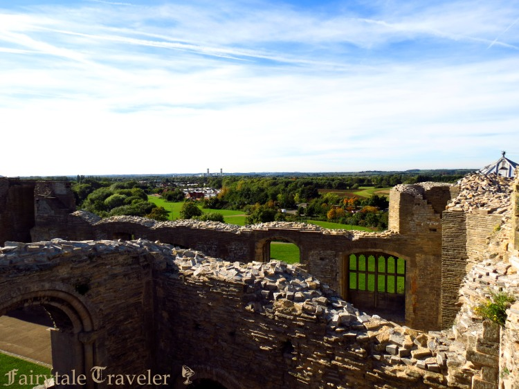 From the castle gatehouse by Christa Thompson