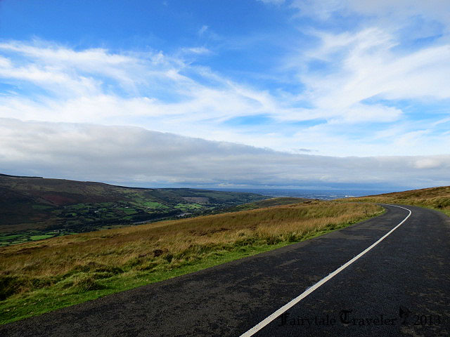 Driving through the Wicklow Mountains on the way to the Sally Gap by Christa Thompson