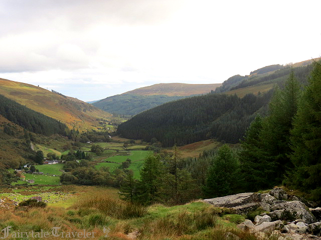 Driving through the Wicklow Mountains by Christa Thompson