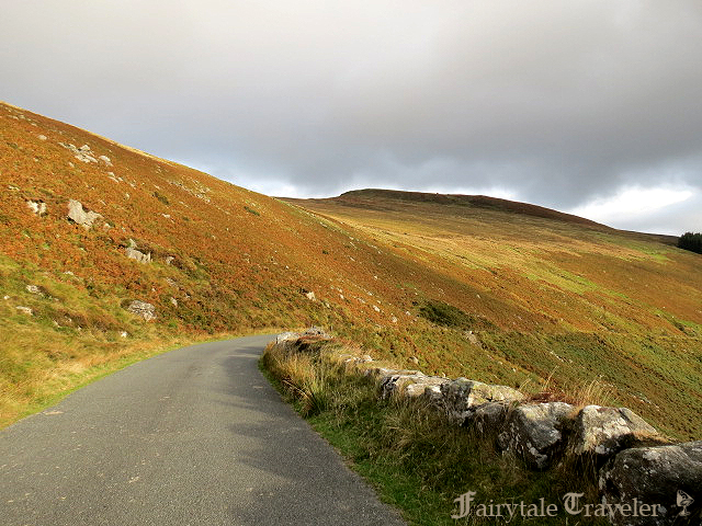 Blanket bog! Driving through the Wicklow Mountains on the way to the Sally Gap by Christa Thompson