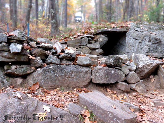 One of the many chambers at the main site by Christa Thompson