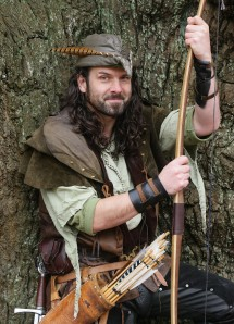 Ezekiel Bone as Robin Hood
